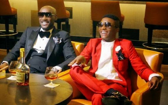 2face and Wizkid (PHOTO: pmnewsnigeria.com)