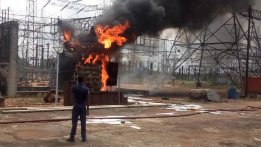 Benin substation fire June 30, 2019