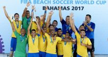 Brazil-Beeach Soccer Team