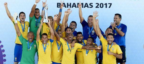 Brazil-Beeach Soccer Team
