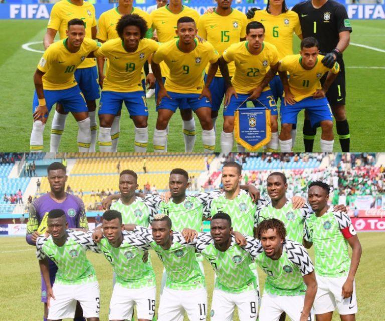 Brazil vs. Nigeria