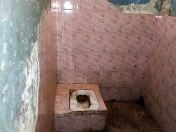 Police cell bathroom
