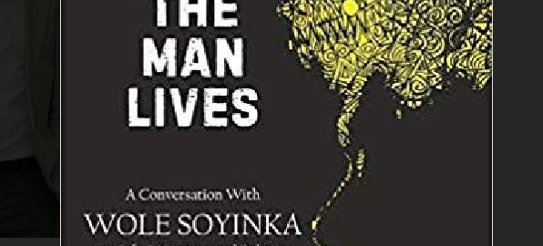 Front Cover of the Book, The Man Lives.