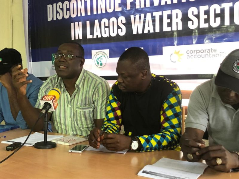 Group urges Sanwo-Olu to stop planned PPP of Lagos water sector - Premium Times