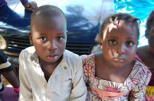 some of the children allegedly renamed sold off in Onitsha, Anambra state. Photo credit, police PPRO Kano