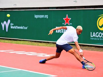 Lagos Open men's Single Winner