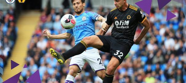 Manchester City Vs Wolves FC. [PHOTO CREDIT: Manchester City official Twitter handle]