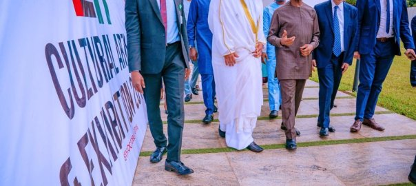 Osinbajo & Al Taffaq