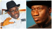Seriake Dickson and Goodluck Jonathan