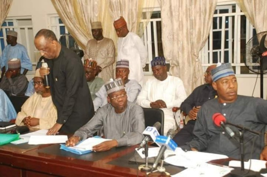 Borno governor holds cabinet retreat in remote town haunted by Boko Haram