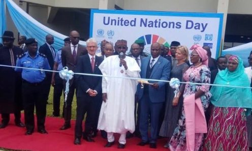 2019 United Nations Day and Official Handing over of Rebuilt UN House by the FCT Minister, Muhammad Musa Bello in Abuja