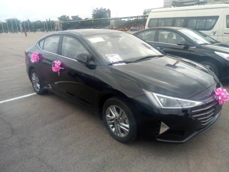 Hyundai sonata won by Elusakin Iyabo from Oriwu Secondary School, Ikoridu