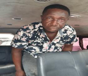 Victor Dokara, suspected kidnap kingpin, from K-Dere