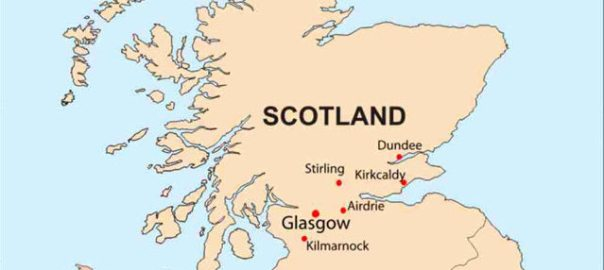 scotland on map (Photo Credit: CDC)