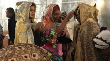 BBC Hausa - Fati Nijar and HRH Sirajo Jan Kado, Sarkin Hausawa of Europe