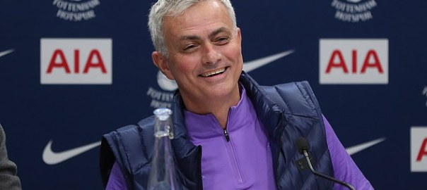 Jose Mourinho [PHOTO: Daily Mail]