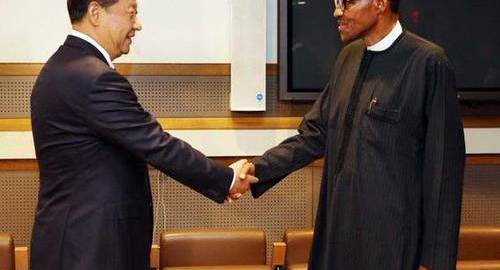 China Premier and Buhari,