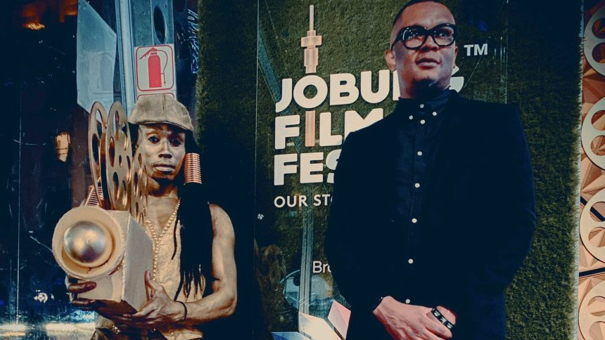 Opening night of @JoburgFilmFest #MCGxJFF #JoburgFilmFestival #OurStoriesAreGold @MultiChoiceGRP. [PHOTO CREDIT: Kutlwano Ditsele's twitter handle]