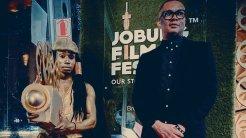 Opening night of @JoburgFilmFest #MCGxJFF #JoburgFilmFestival #OurStoriesAreGold @MultiChoiceGRP. [PHOTO CREDIT: Kutlwano Ditsele's twitter handle]