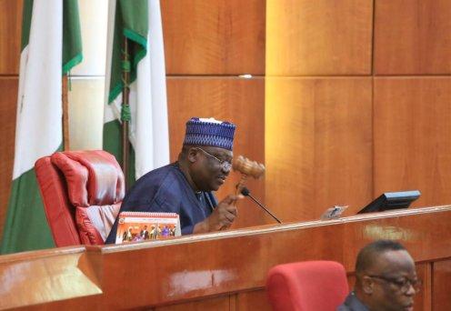 Nigerian Senate President, Ahmed Lawan