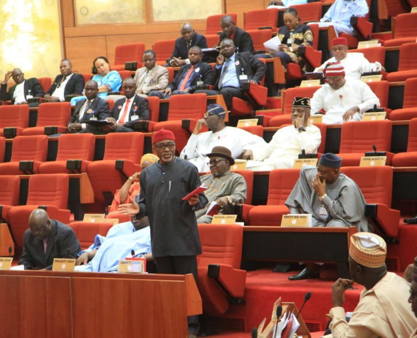 Nigeria Senate plenary