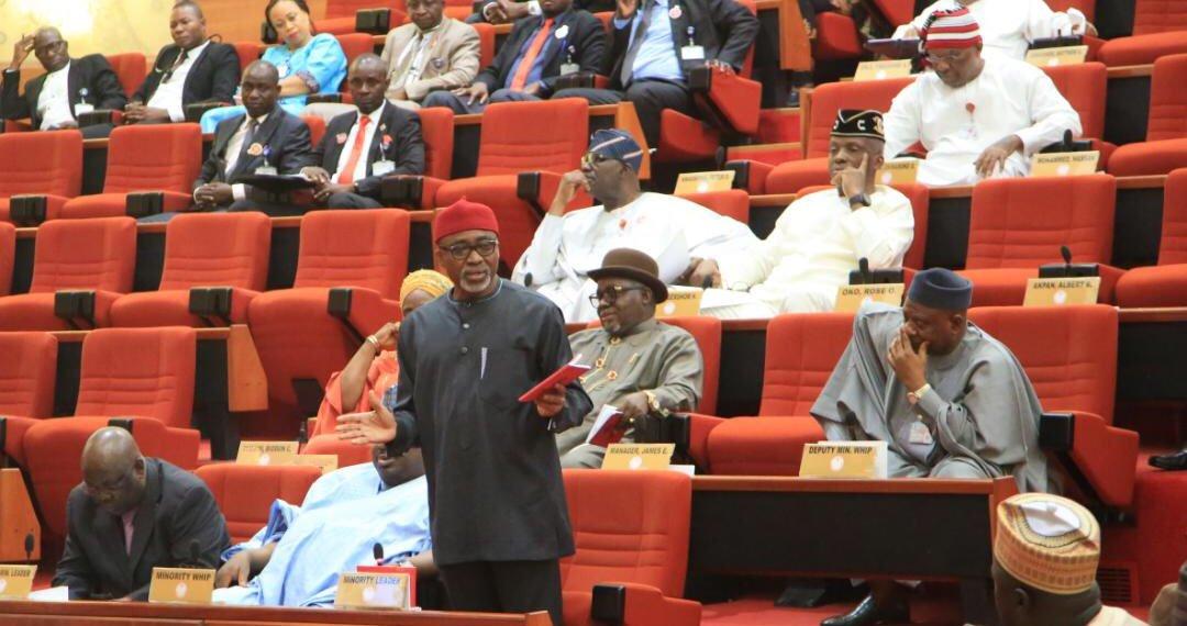 SENATORS: Nigeria Senate plenary