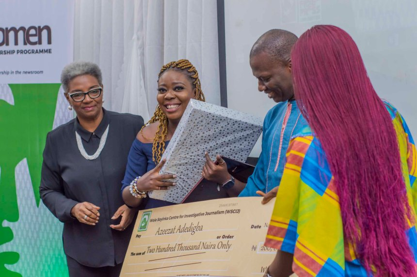 A reporter at PREMIUM TIMES, Azeezat Adedigba, has been named the winner of the 2019 Female Reporters Leadership Program (FRLP) organised by Wole Soyinka Centre for Investigative Journalism (WSCIJ).