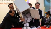 Hong Kong elections [PHOTO: CNN]