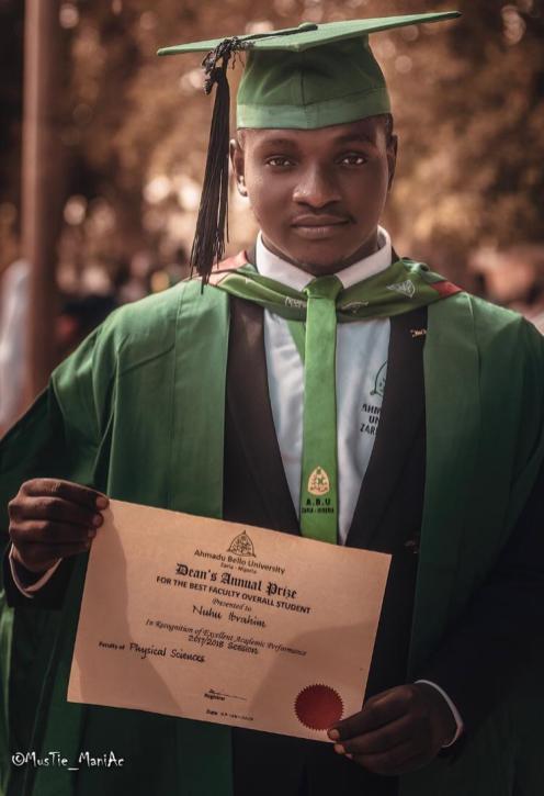 Nuhu Ibrahim, ABU Best Student