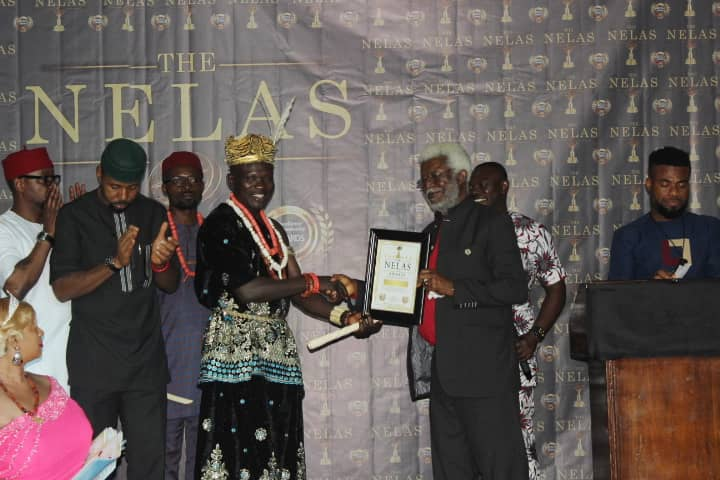 Veteran Hollywood actor, Pete Edochie; comic act, Charles Inojie and UK based celebrity actress, Funmi Ogidan Bello, were some of the stars honoured