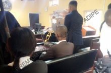 court room at the Federal high court in Lagos