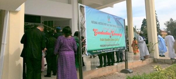Guest arriving the venue