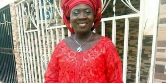 Salome Abuh, prominent PDP women leader in Kogi East [Photo: Facebook - Idoko Ameh]