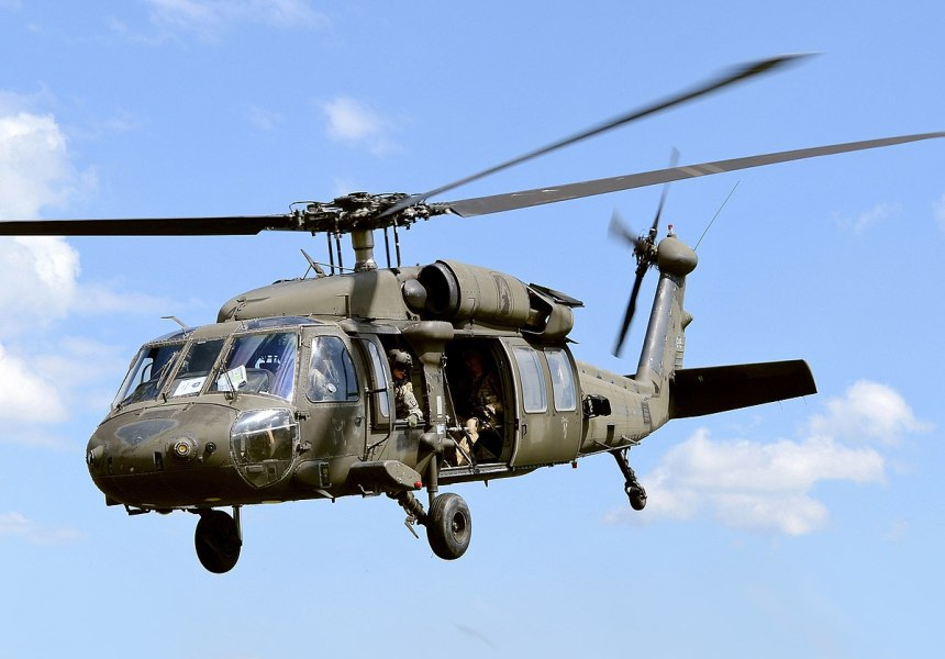 U.S Military Helicopter