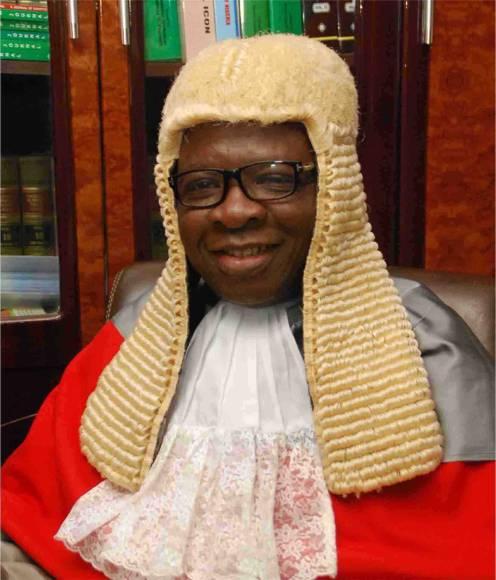 The judge, Justice S.O Falola