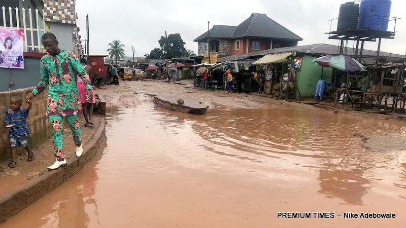 NDDC road project in Nomayo community, Ikpoba Okha LGA of Edo state
