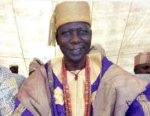 Samuel Adegbola, ruler of Eruwaland in Oyo State