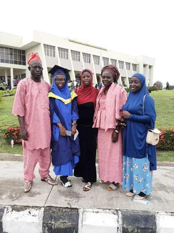 Abibat Owolabi and family