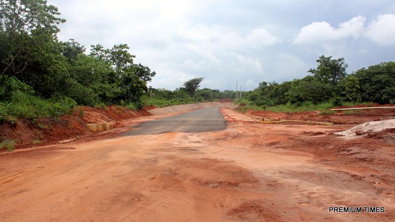 Uncompleted road project linking Ugwueme-Nenweta-Nkwe-Nzere-Awgunta-Mgbidi-Mmaku