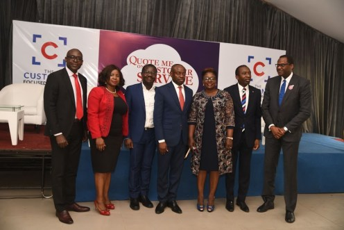 A cross section of guests at the launch of Quote Me onCustomer Service in Lagos