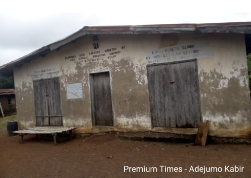 Abandoned garri factory @ Olorunda
