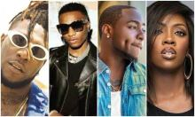 Burna Boy, Wizkid, Davido and TiwaSavage are the strong contenders for the 2020 Soundcity MVP Awards