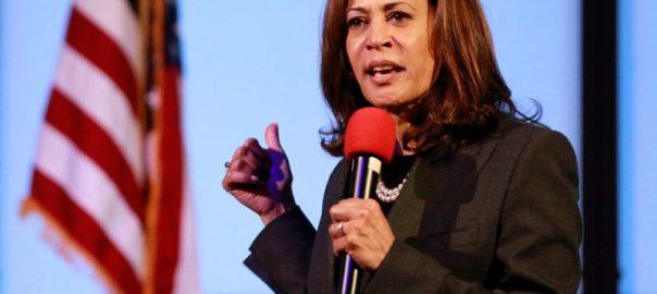 California Senator Kamala Harris