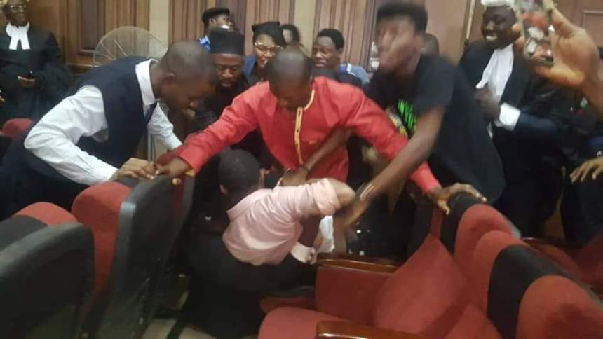 Sowore assaulted by SSS