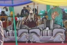 Muhammadu Sanusi, Emir of Kano at the event