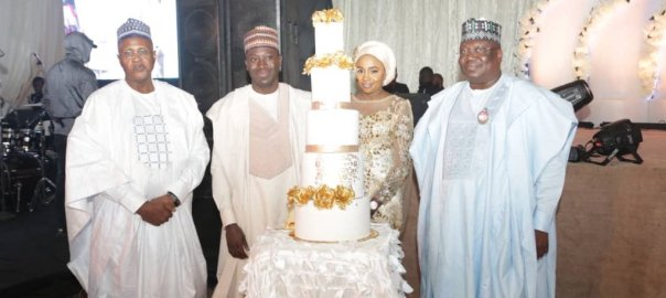 The marriage ceremony began on Wednesday with the bridal shower or Kamu in Hausa, followed by a dinner on Thursday. Both events held at Meena Event Centre in Kano.