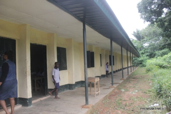 Completed Obiene Ututu primary school