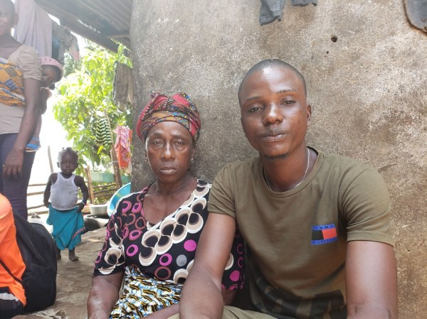 Lamin and his grandmother