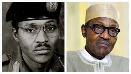 L-R: Gen. Muhammadu Buhari - President Muhammadu Buhari