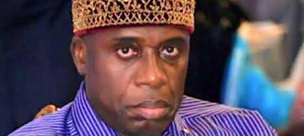 Minister of Transportation, Rotimi Amaechi.